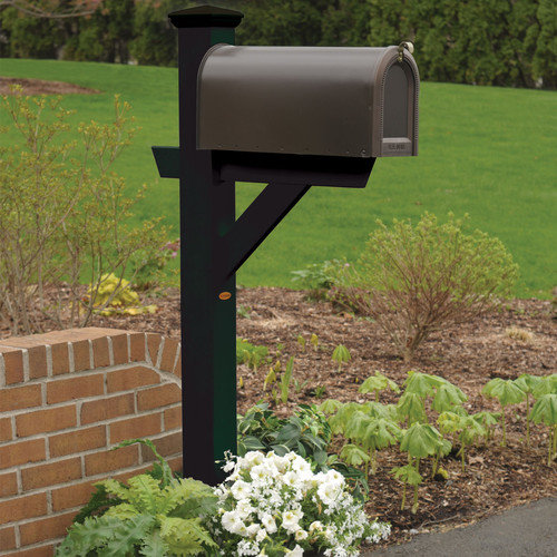 Highwood USA Hazleton Mailbox Post