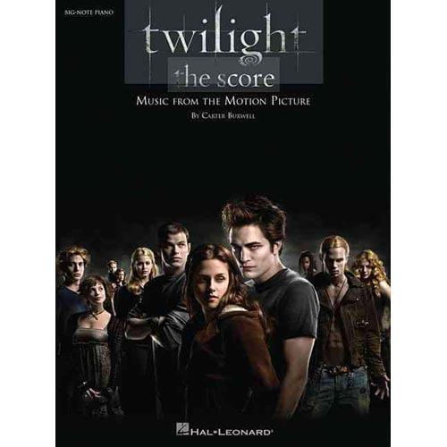 Twilight - the Score: Big-note Piano