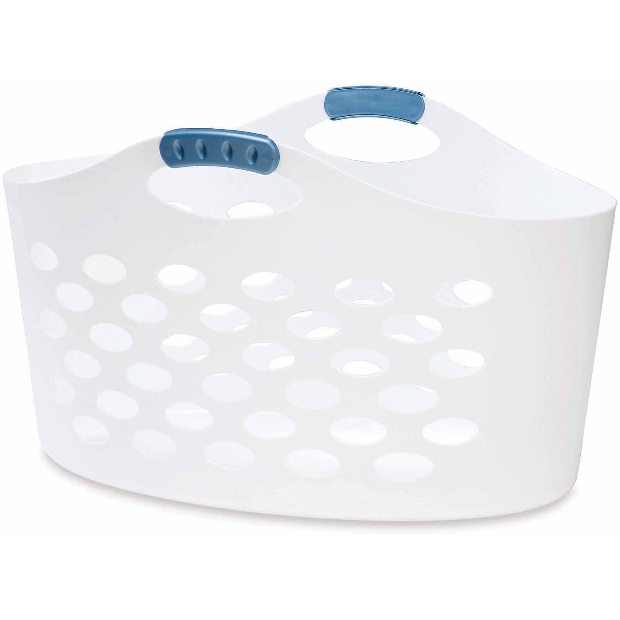 Rubbermaid Flex'n Carry Basket, White