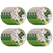 PVCS Irish St. Patrick's Day Party Supplies Disposable Tableware Set Party for Home