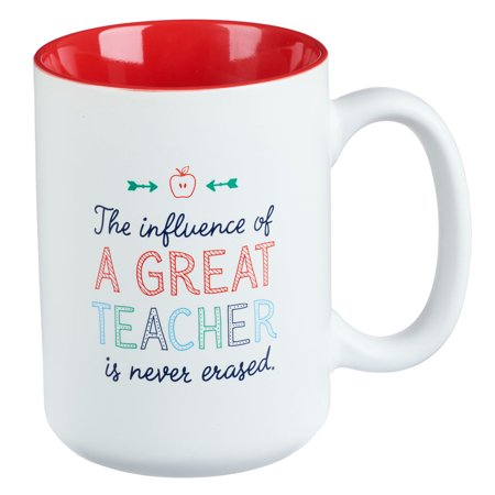 A Great Teacher Coffee Mug](Teacher Coffee Mugs)