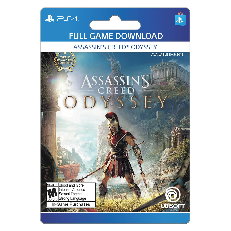 Assassin S Creed Odyssey Ubisoft Playstation Digital Download Walmart Com Walmart Com
