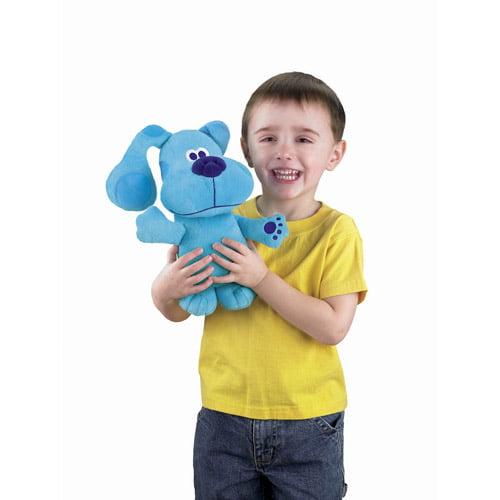 fisher price all stars blues clues blue talking plush toy walmartcom - Blue Clues