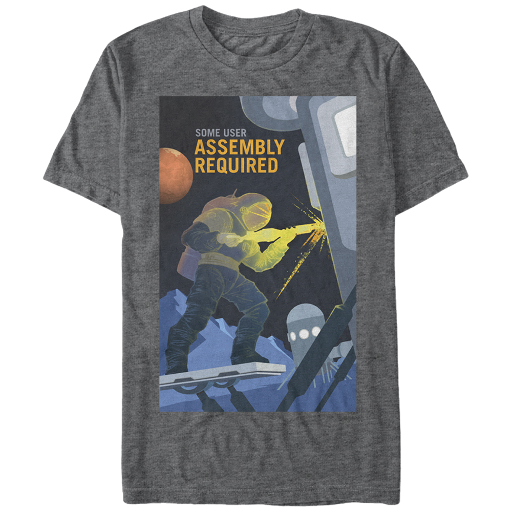 NASA Men's Mars Assembly Required T-Shirt