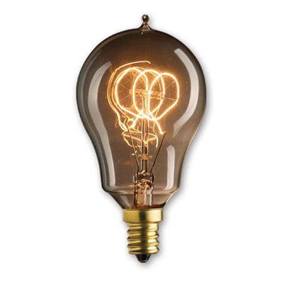 Bulbrite 25W Loop Filament A15 Incandescent Edison Light Bulb - 6 pk.