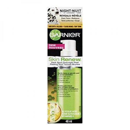 garnier skin renew clinical dark spot overnight peel, 1.6 fluid