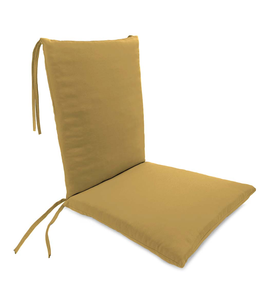 Weather Resistant Outdoor Rocker Chair Cushion Walmart Com