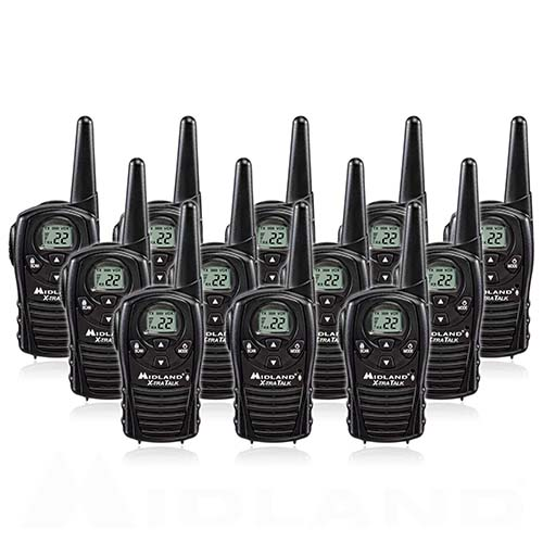 Midland LXT118 (12 Radios) 2Way Radio