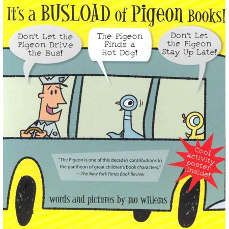 Pigeons Animal (It's a Busload of Pigeon Books! (NEW ISBN))