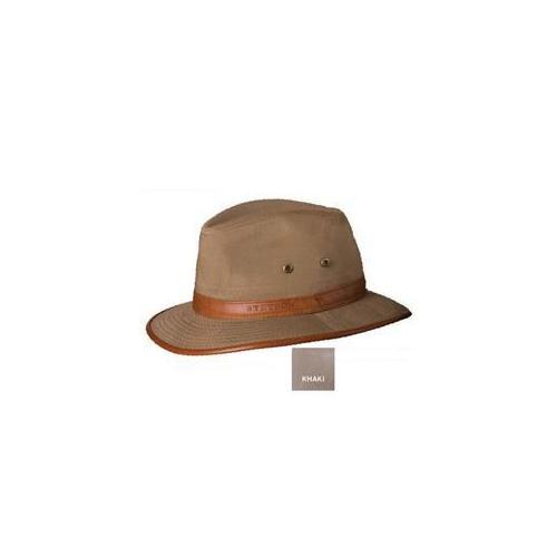Stetson Better Stc63-Kaki3 1/Topeka Lthr Trim Safari-L Hat