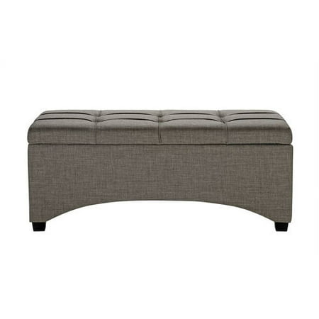 Better Homes & Gardens Pintucked Storage Bench, Multiple Finishes ()