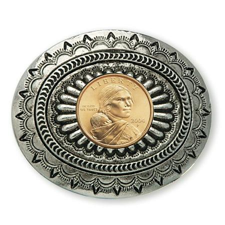 American Coin Treasures  Sacagawea Golden Dollar Belt