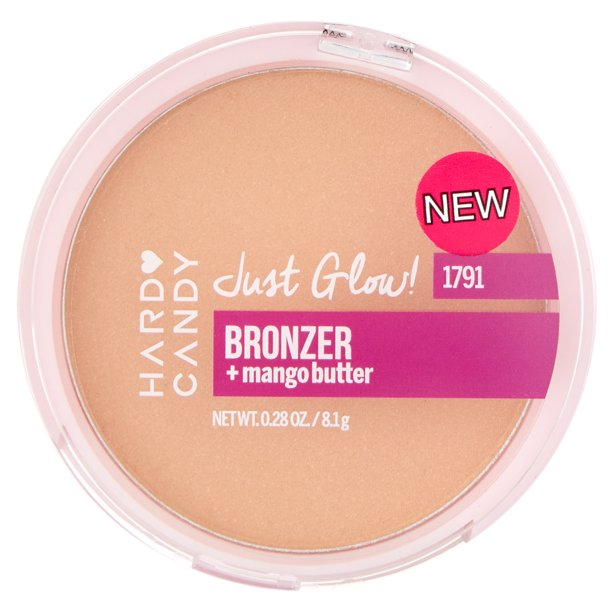Hard Candy Just Glow! Shimmer Bronzer, Tiki, 0.28 oz