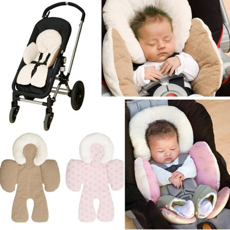 Baby Car Seat Cotton Mat Safety Body Soft Cushion Pad Pillow Child Seat Chair Protection