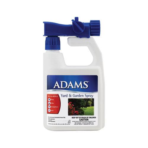 Adams Flea and Tick Control Yard Spray, 32 oz by Farnam Companies