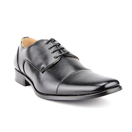 Majestic Men's 37686 Leather Lined Derby Cap Toe Oxfords - Mephisto Leather Oxfords