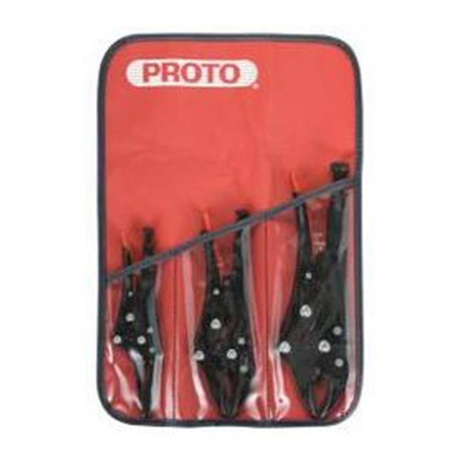 Stanley Proto Industrial Tools PO299RXL Set Plier Locking 8 Piece - image 1 of 1