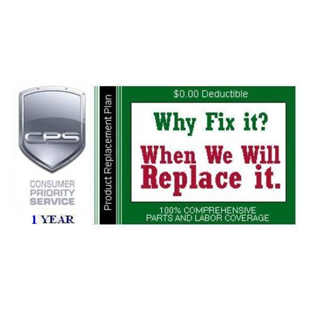 Consumer Priority Service RPL1-100 1 Year Product Replacement under $100. 00