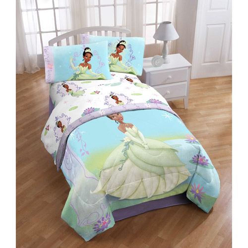 Disney's Princess and the Frog Twin Sheet Set