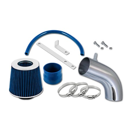 RL Concepts Blue Short Ram Air Intake Kit + Filter For 11-13 Hyundai Accent Veloster 12-13 Veloster 1.6 L4