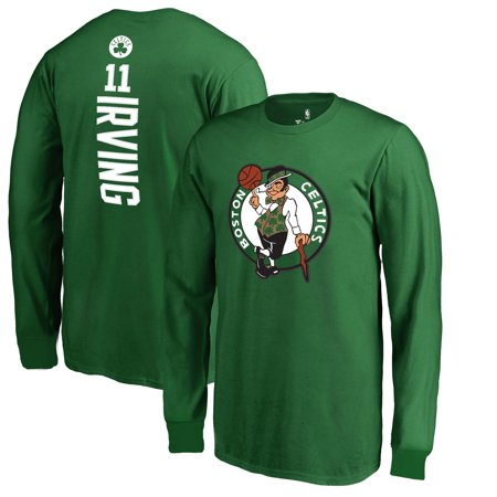 info for eadd9 6978d Kyrie Irving Boston Celtics Fanatics Branded Youth Team Backer Name &  Number Long Sleeve T-Shirt - Kelly Green