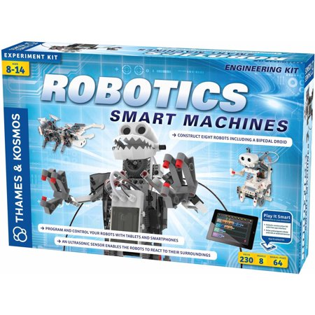 Thames And Kosmos Robotics Smart Machines Science Experiment Kit