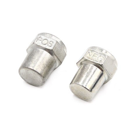 2 Pair M9 Zinc Alloy Positive Negative Battery Post Terminal Adapters for Car - image 3 of 3