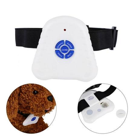 Ymiko Ultrasonic Anti Barking Dog Collar Dog Pet Outdoor/Indoor No Barking Training Device Collar For Small Sized