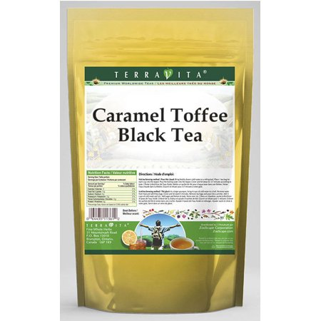 Caramel French Tea - Caramel Toffee Black Tea (25 tea bags, ZIN: 540357)