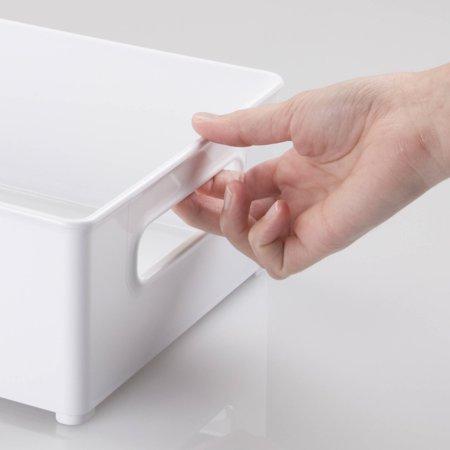 Interdesign Refrigerator And Freezer Storage Organizer Bins  8   X 4   X 14 5    White