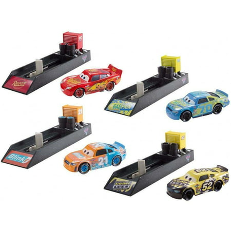 Disney/Pixar Cars Launcher And Metal Vehicle (Styles May Vary)