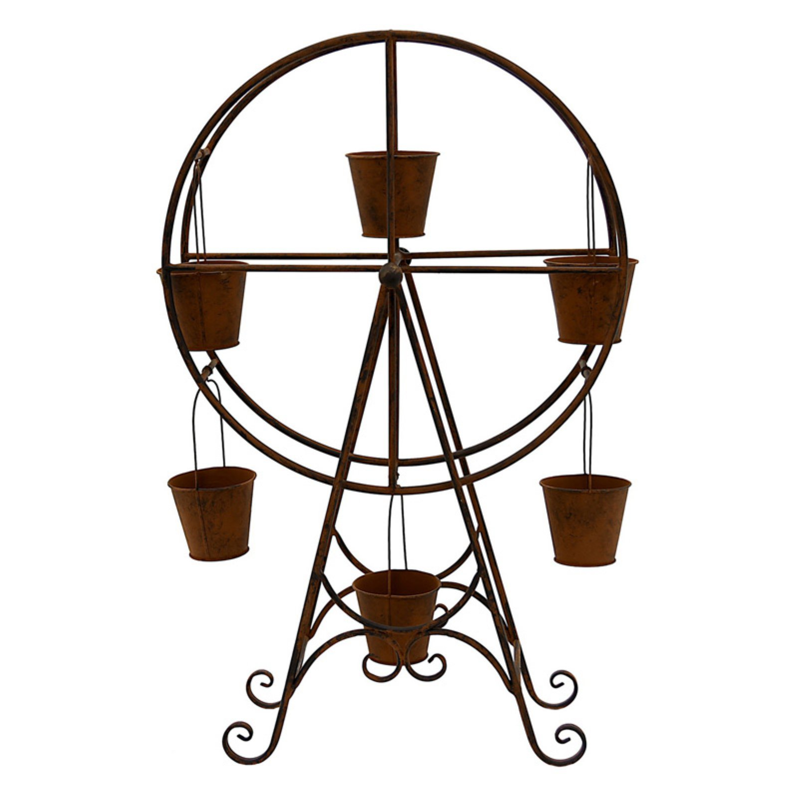 Three Hands Metal Windmill Planter by Overstock