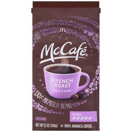 McCafe French Roast Ground Coffee, Caffeinated, 12 oz