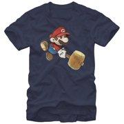 Paper Mario- Hammer Time Apparel T-Shirt - Blue