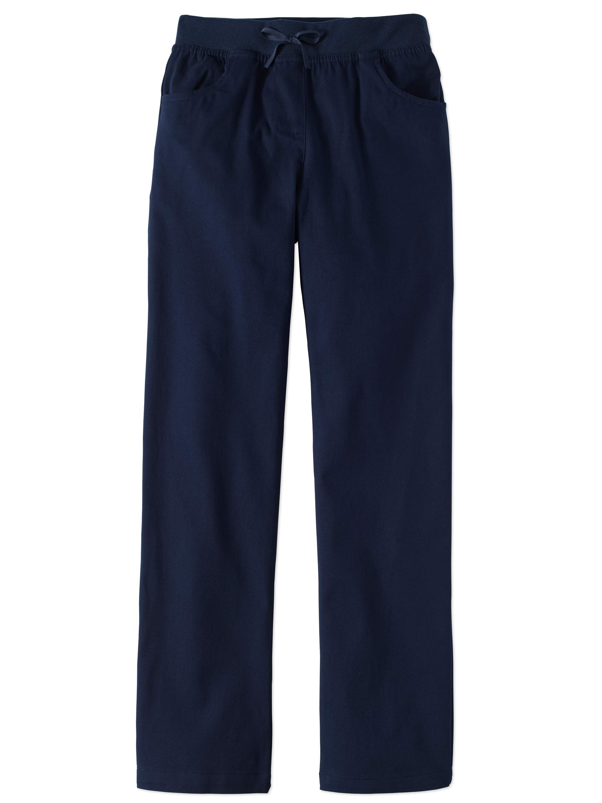 Girls School Uniform Pull-On Pants