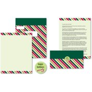Candy Cane Stripes Self Mailer