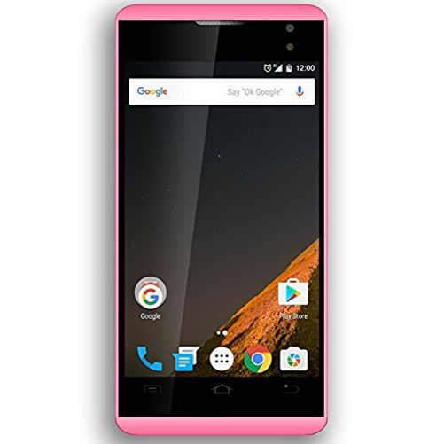 "Planet ""Figo"" Virtue 4.0 V2 3g 8gb  Unlocked Dual Sim Smartphone Pink"