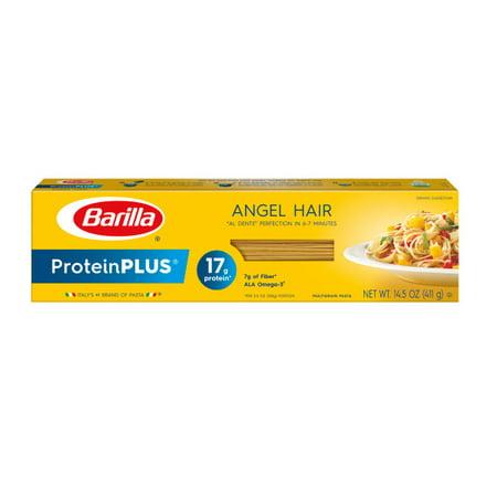 (3 pack) Barilla ProteinPLUS Angel Hair, 14.5 oz Barilla Angel Hair Pasta