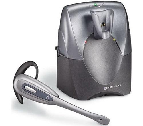 Refurbished Plantronics CS55 Mono Noise-Canceling Wireless Headset for Deskphones by Plantronics