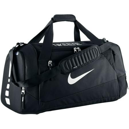 Nike Hoops Large Elite Max Air Team Duffle Bag-Black/Black