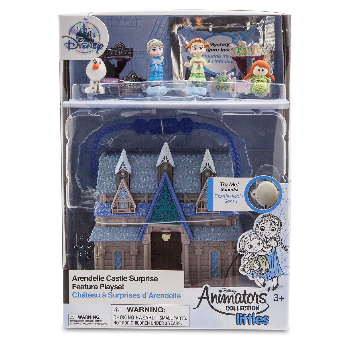 Disney Animators/'S COLLECTION Store Littles Frozen Micro Playset