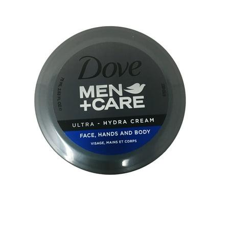 Dove Men+Care Ultra Hydra Cream Face Hand&body Round 75 ml Given Round Face