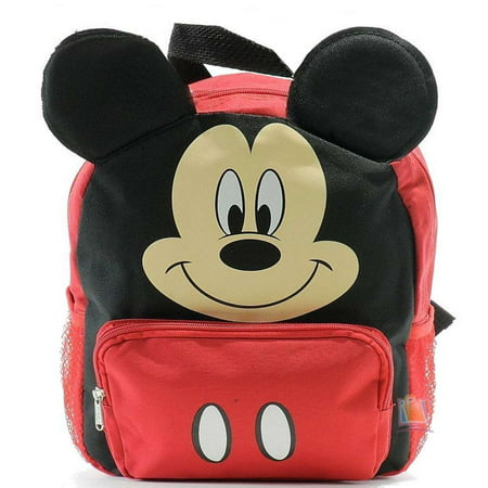 New Mickey Mouse Club House 3D Ears Small Toddler Backpack-8680 -  Walmart.com f1640ae0615c