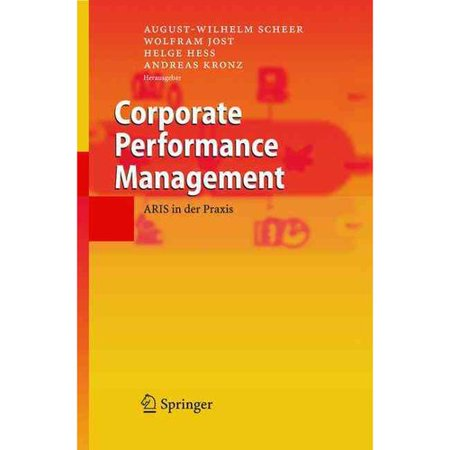 Corporate Performance Management  Aris In Der Praxis