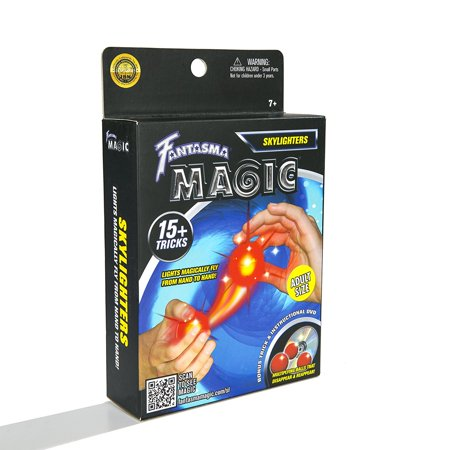 Fantasma Magic Skylighters Set with Over 15 Tricks Including Instructional DVD - Adult Size, BRILLIANT AND ENTERTAINING ILLUSIONS - If you've ever.., By M