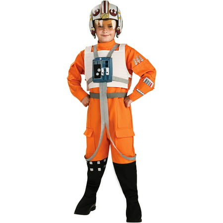 Star Wars X-Wing Pilot Child Halloween Costume](Children's Star Wars Halloween Costumes)