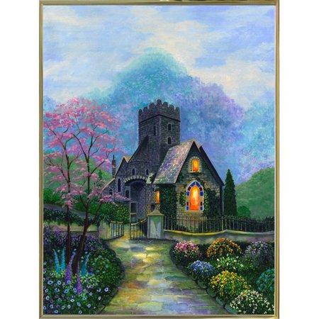 August Grove 'Irish Church & Garden' - Halloween Grove Gardens