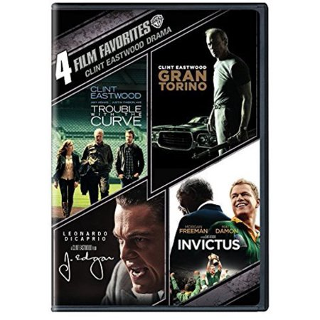 Image of 4 Film Favorites: Clint Eastwood Drama (DVD)