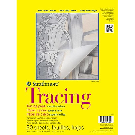 Strathmore Tracing Paper Pad, 300 Series, 9