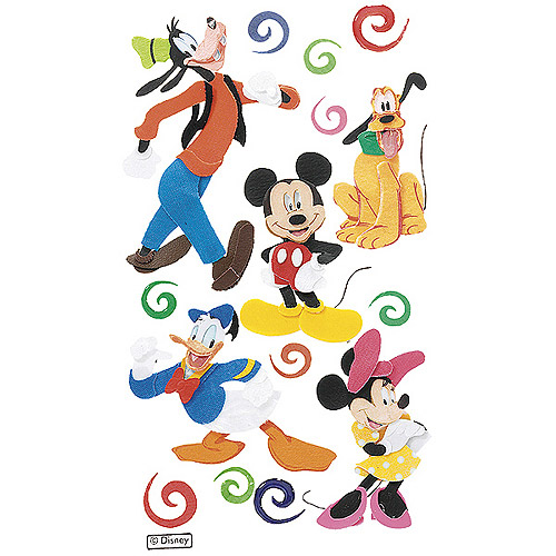 Disney Dimensional Stickers, Mickey And Friends